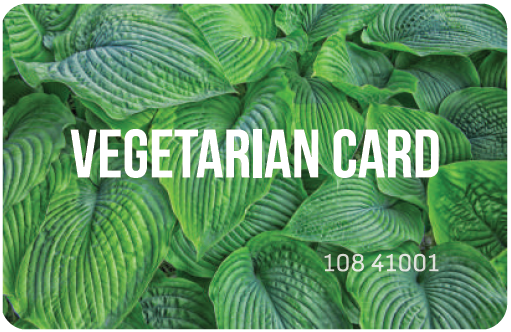 Купить VEGETERIAN CARD